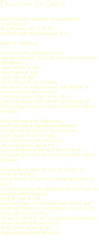 Directions for 5th avenue salon carlisle pa